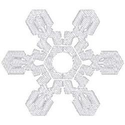 Snow Flake embroidery design