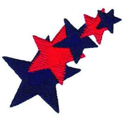 Patriot Stars embroidery design