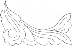 Decorative Motif embroidery design