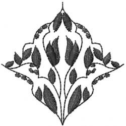 Blackwork Design embroidery design