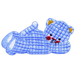 Lounging Kitty embroidery design