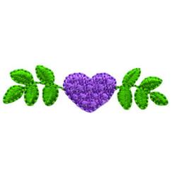 Heart Design embroidery design