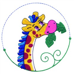 Cartoon Zebra embroidery design
