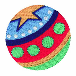 Toy Ball embroidery design