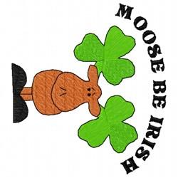 Irish Moose embroidery design