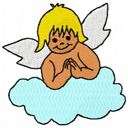 Angel Cloud embroidery design