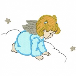 Heavenly Fairy Angel embroidery design