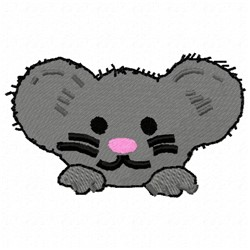 Mouse Pocket Topper embroidery design