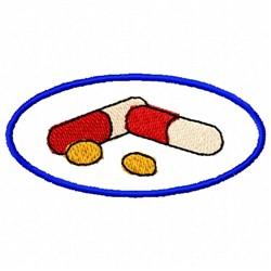 Medicine Circle embroidery design