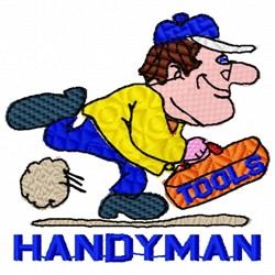 Handyman Tools embroidery design