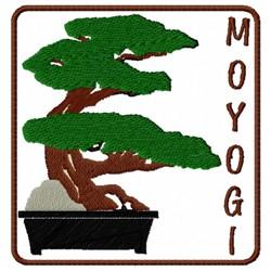 Moyogi Bonsai embroidery design