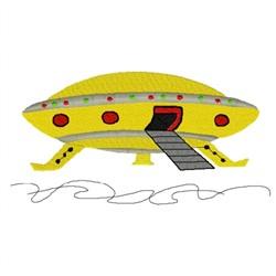 Space UFO embroidery design