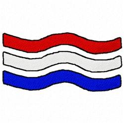 USA Stripes embroidery design