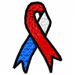 American Spirit Ribbon embroidery design