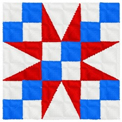 Star Quilt Block embroidery design
