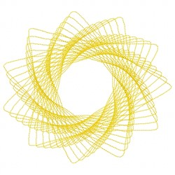 Spiral Design embroidery design