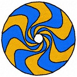 Circle Swirl Design embroidery design