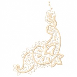 Paisley Corner embroidery design
