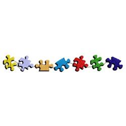 Puzzle Border embroidery design