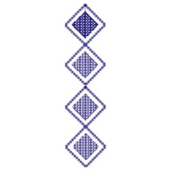 Diamond Border embroidery design