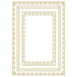 Heirloom Quilt Frame embroidery design