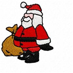 Small Santa embroidery design