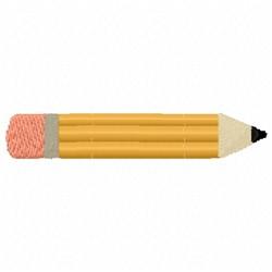 Straight Pencil embroidery design