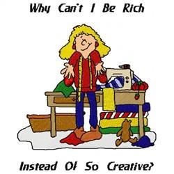 Rich Creative embroidery design