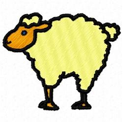 Sheep Lamb embroidery design