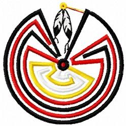 Navajo Maze embroidery design
