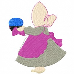 Cook Woman embroidery design