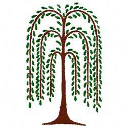 Willow Tree embroidery design