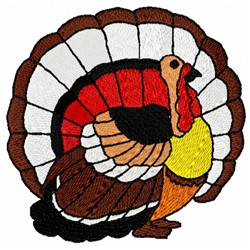 Plain Turkey embroidery design