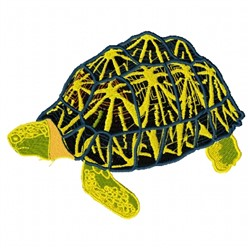 Star Tortoise embroidery design
