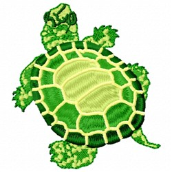 Turtle Top embroidery design
