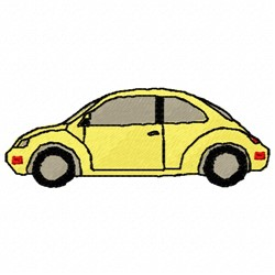 VW Bug embroidery design