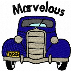 Marvelous Car embroidery design