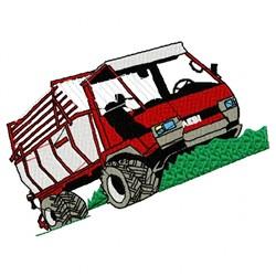 Aebi Tractor embroidery design
