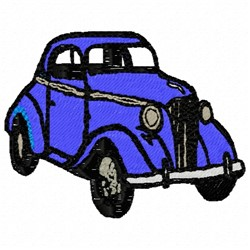 Old Car embroidery design
