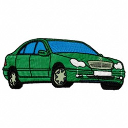 Coupe Car embroidery design