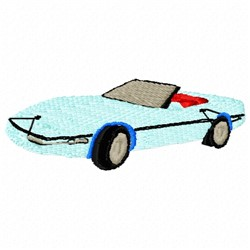 86 Car embroidery design