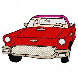 56 Car embroidery design