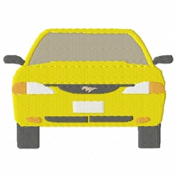 Front Car embroidery design