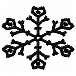Bold Snowflake   embroidery design