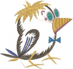 Little Bird embroidery design