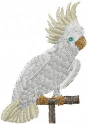 Cockatoo embroidery design