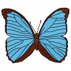 Menelaus Butterfly embroidery design