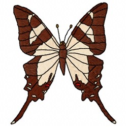 Columbus Butterfly embroidery design