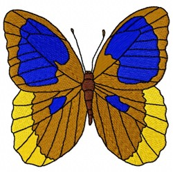 Uranus Butterfly embroidery design