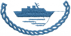 Yacht Rope embroidery design